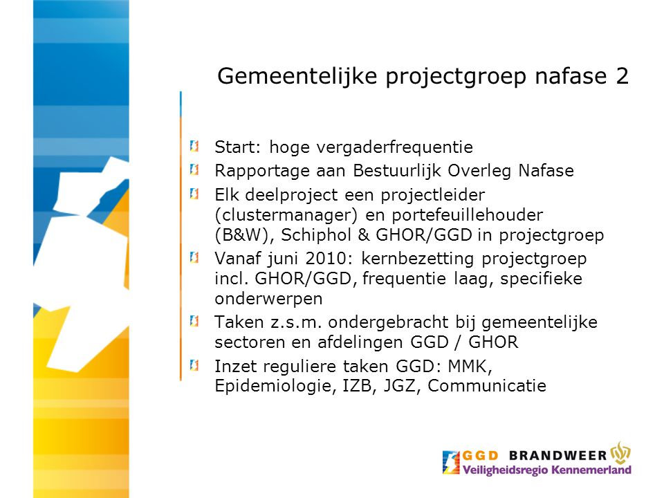 Gemeentelijke projectgroep nafase 2