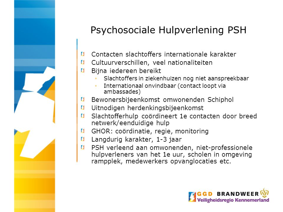 Psychosociale Hulpverlening PSH
