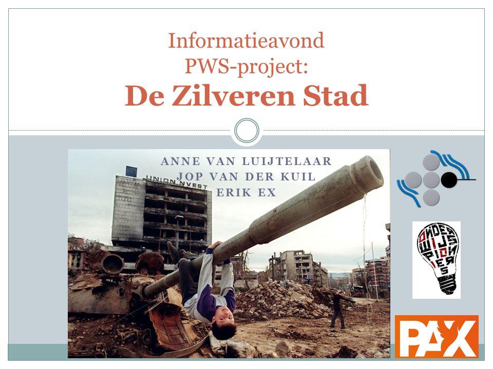 Informatieavond PWS-project: De Zilveren Stad