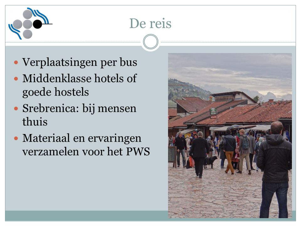 De reis Verplaatsingen per bus Middenklasse hotels of goede hostels