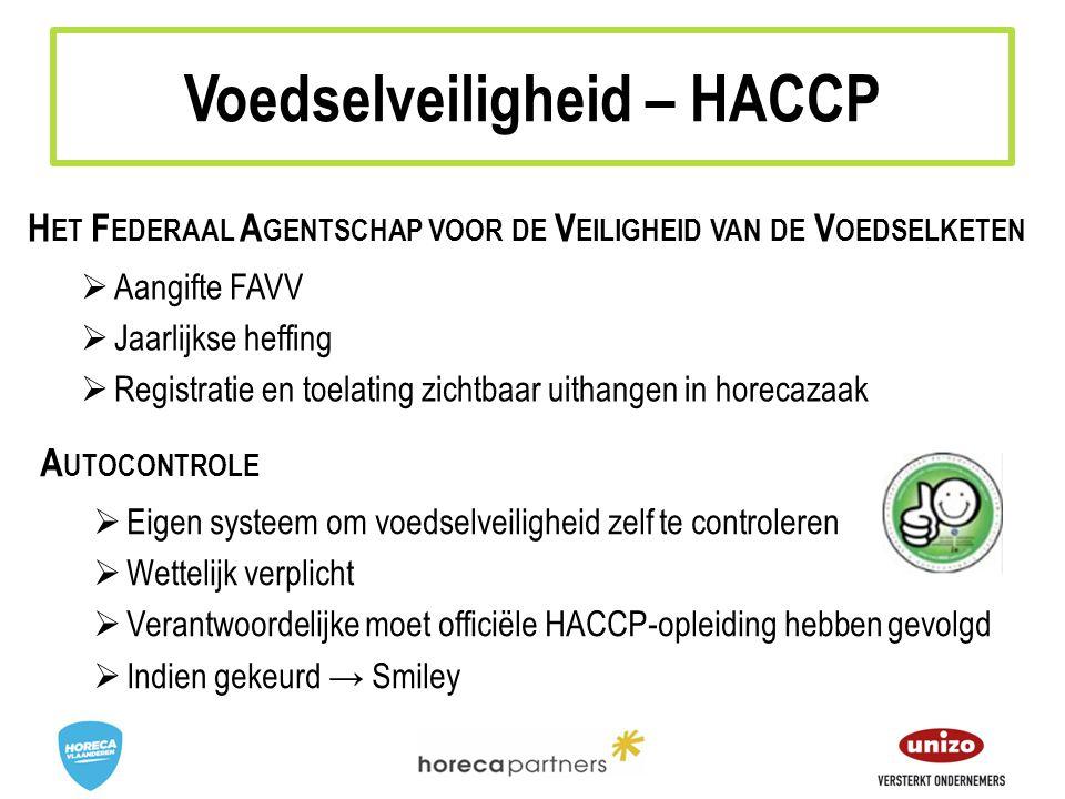 Voedselveiligheid – HACCP