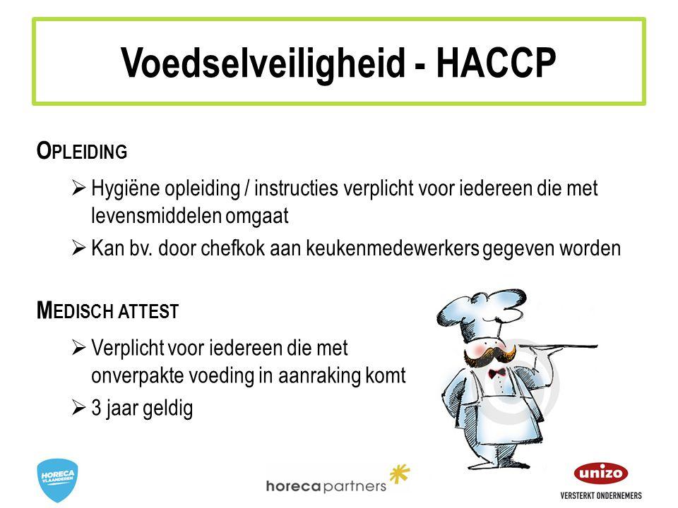 Voedselveiligheid - HACCP