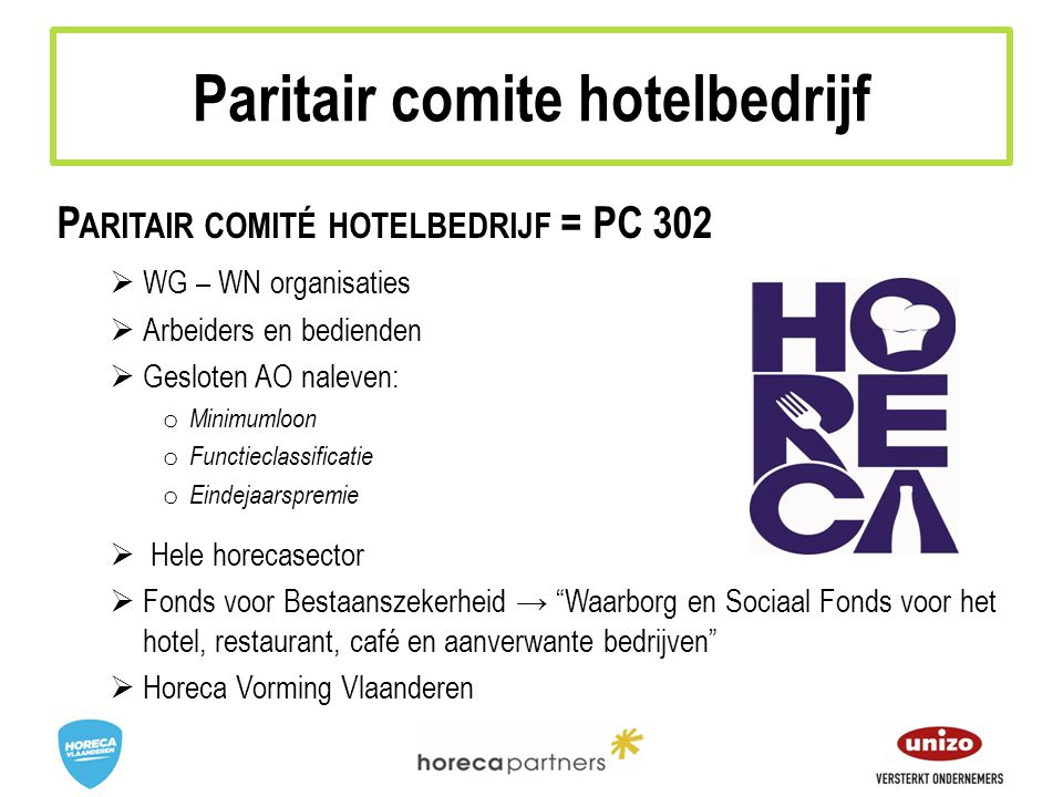 Paritair comite hotelbedrijf