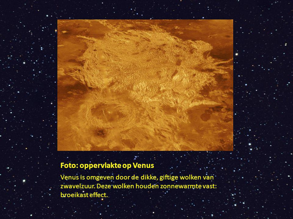 Foto: oppervlakte op Venus