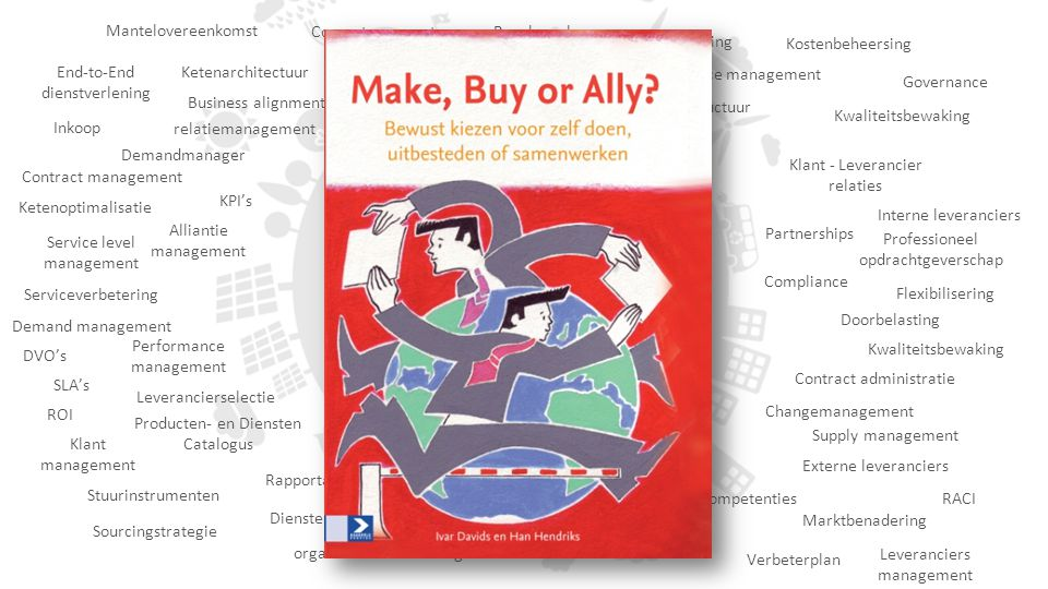 Mantelovereenkomst Competence center. Benchmarken. Ketensturing. Kostenbeheersing. Make, Buy & Ally.