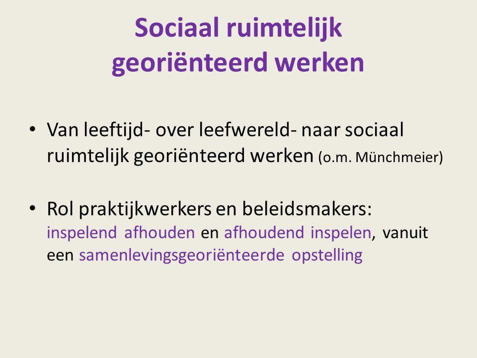 Sociaal ruimtelijk georiënteerd werken