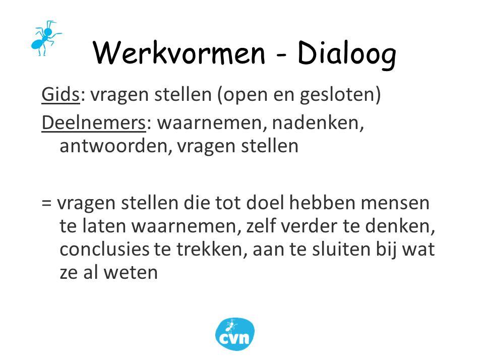 Werkvormen - Dialoog
