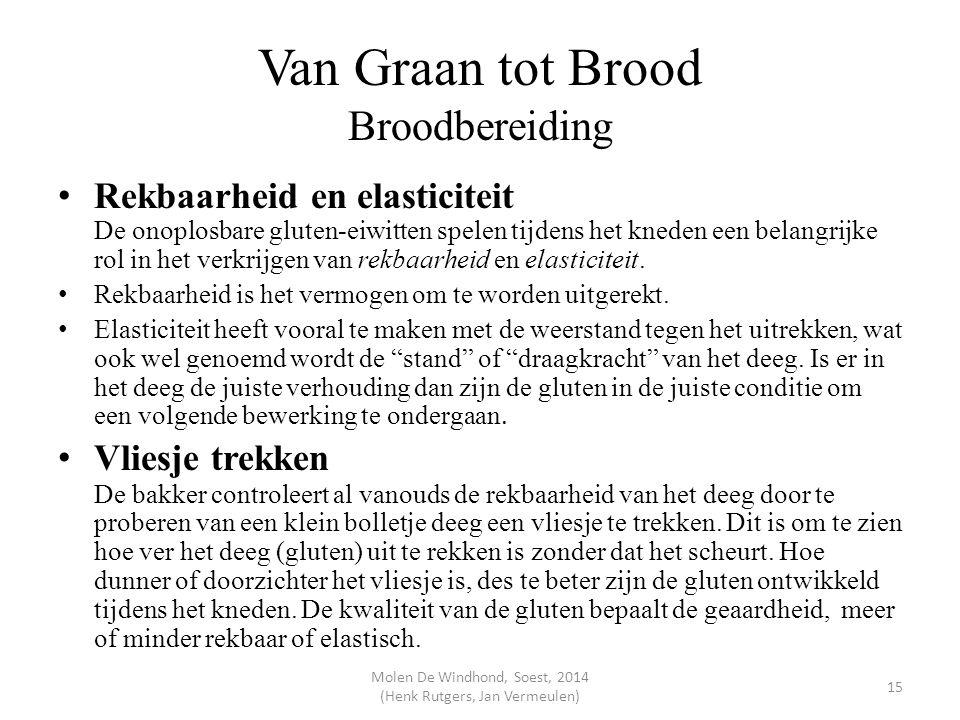 Van Graan tot Brood Broodbereiding