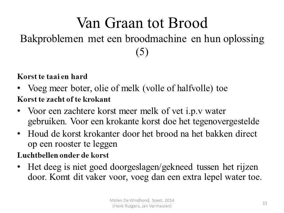 Molen De Windhond, Soest, 2014 (Henk Rutgers, Jan Vermeulen)
