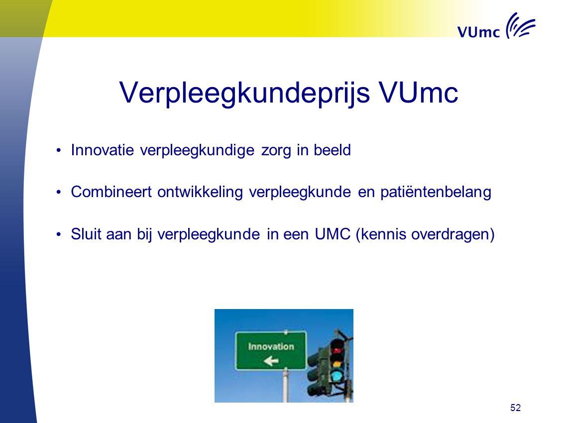Verpleegkundeprijs VUmc