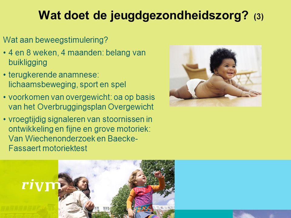 Wat doet de jeugdgezondheidszorg (3)