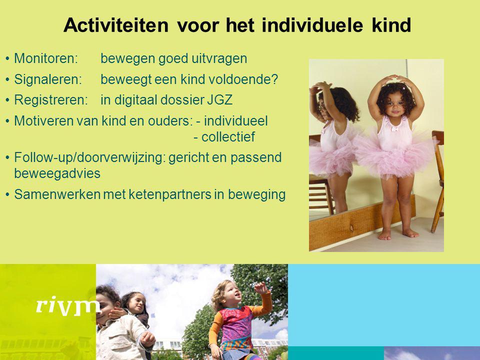Activiteiten voor het individuele kind