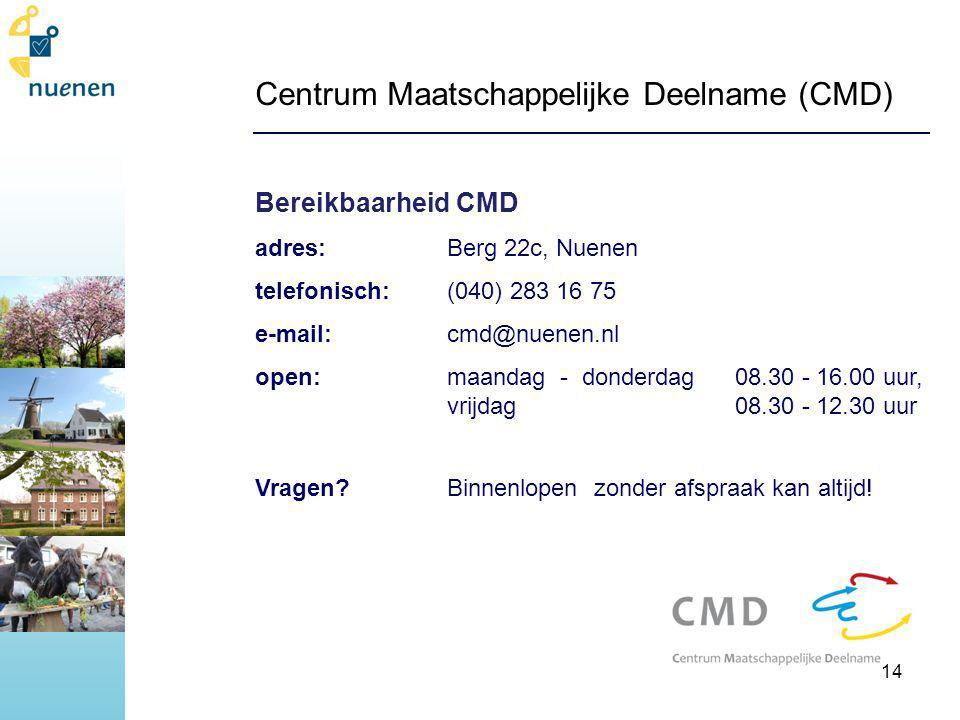 Centrum Maatschappelijke Deelname (CMD)