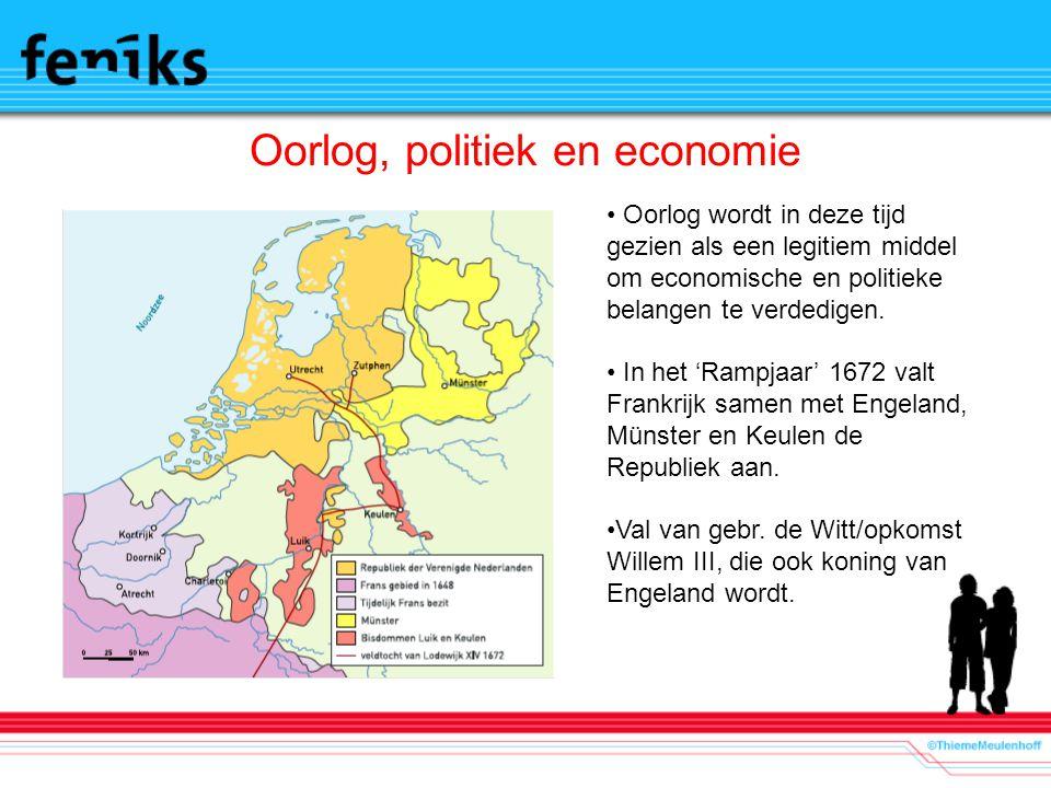 Oorlog, politiek en economie