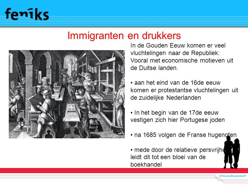 Immigranten en drukkers
