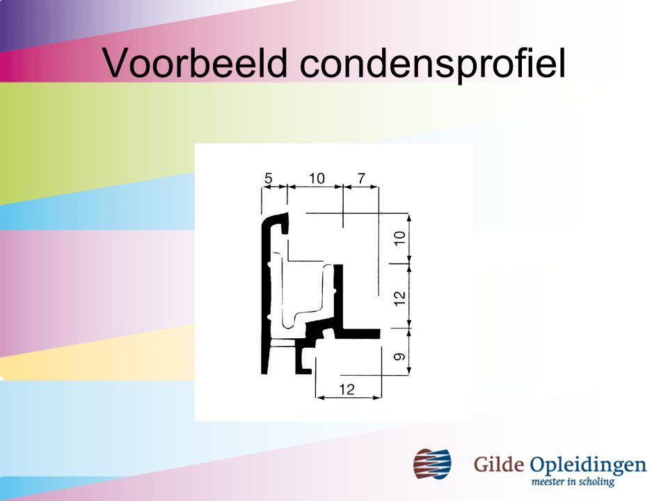 Voorbeeld condensprofiel