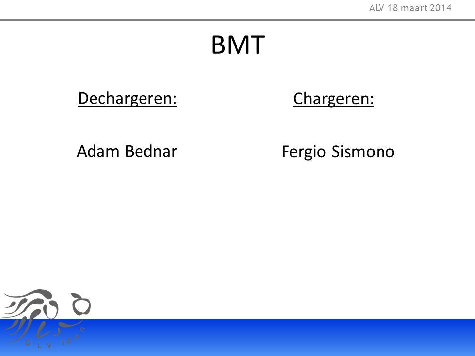 BMT Dechargeren: Chargeren: Adam Bednar Fergio Sismono