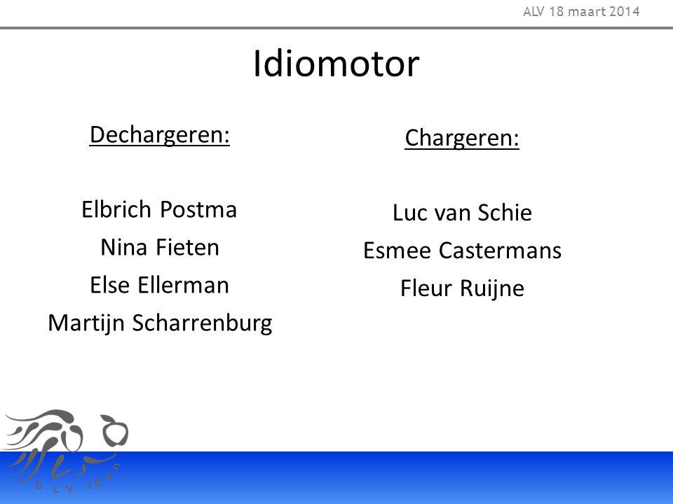 Idiomotor Dechargeren: Chargeren: Elbrich Postma Luc van Schie