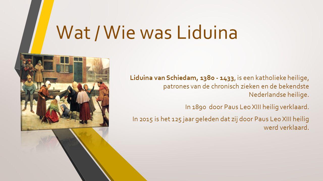 Wat / Wie was Liduina