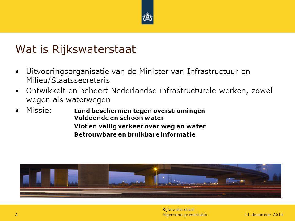 Wat is Rijkswaterstaat