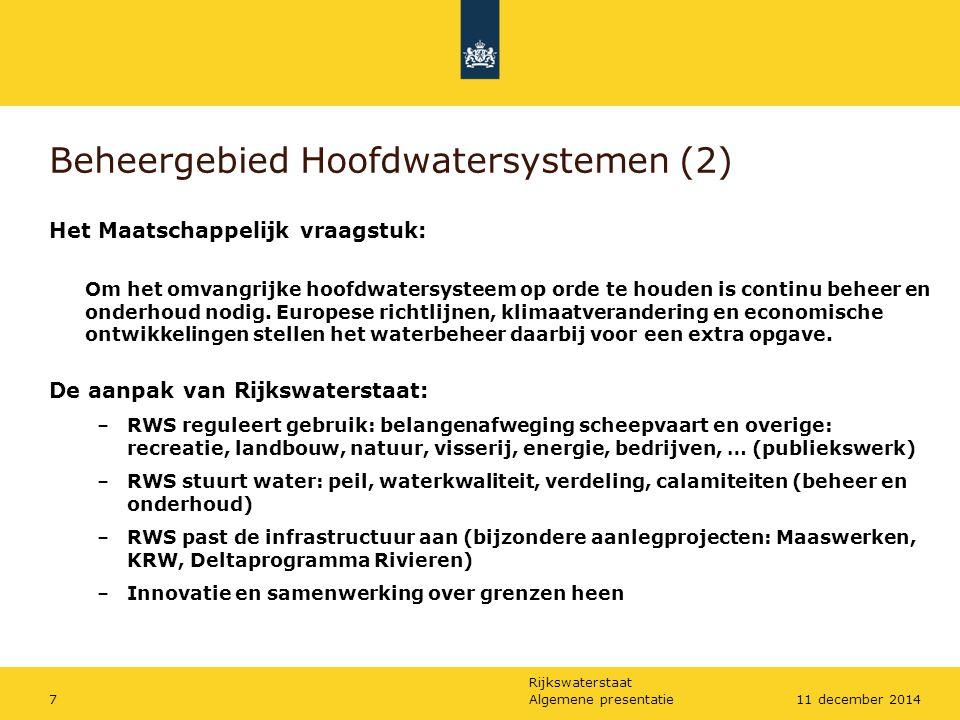 Beheergebied Hoofdwatersystemen (2)