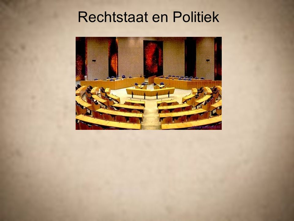 Rechtstaat en Politiek