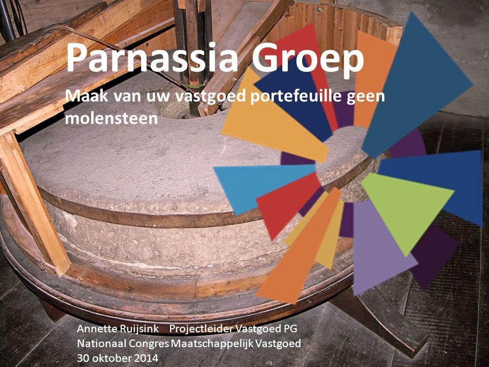 Parnassia Groep Maak van uw vastgoed portefeuille geen molensteen