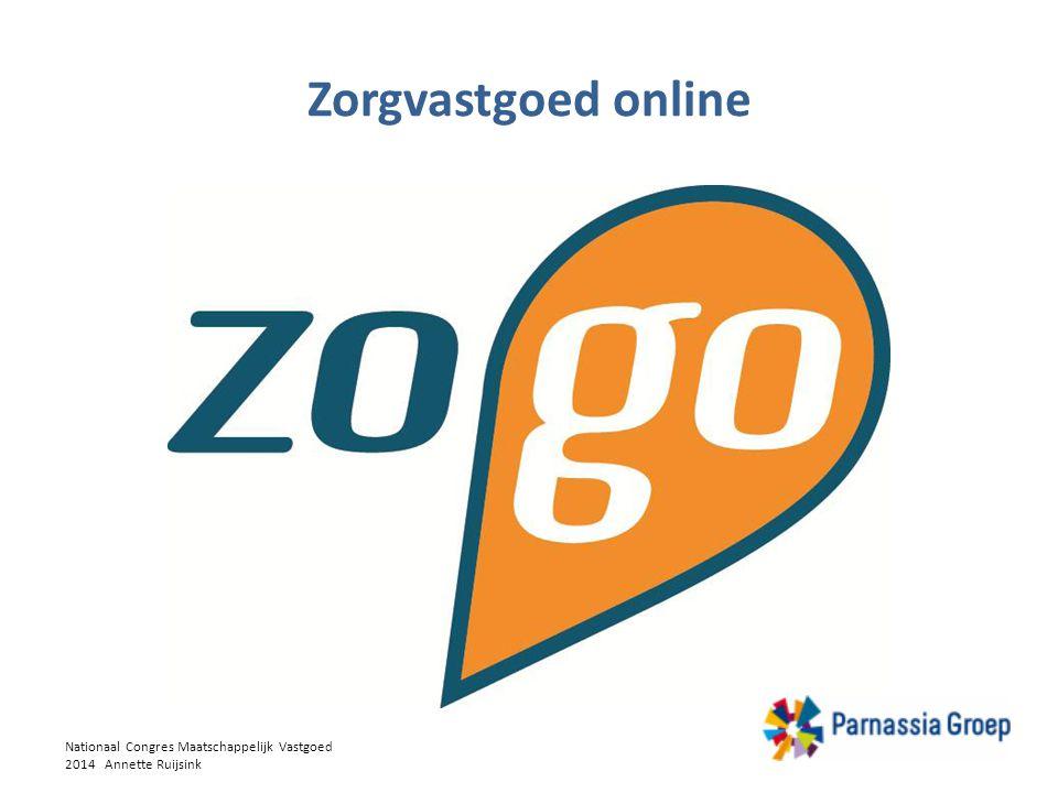 Zorgvastgoed online Nationaal Congres Maatschappelijk Vastgoed 2014 Annette Ruijsink