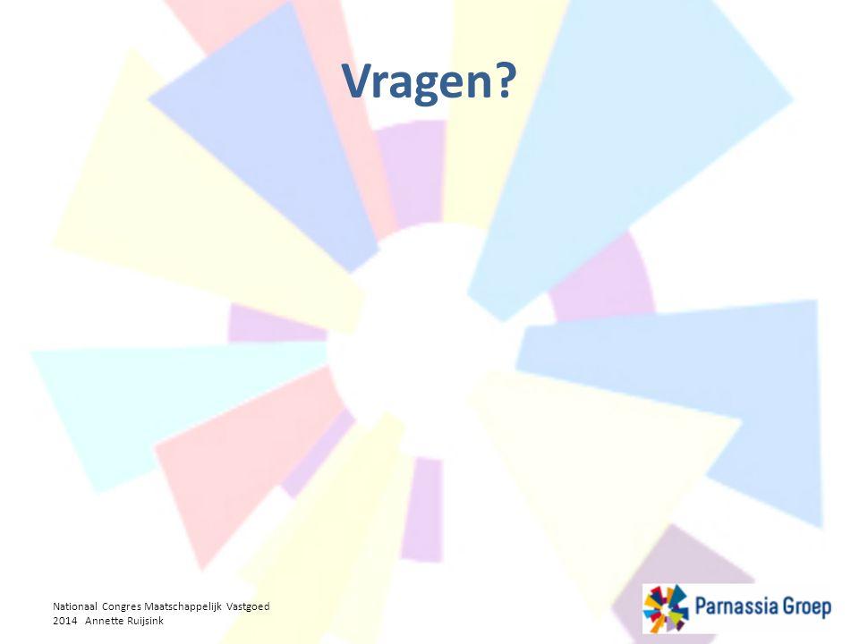 Vragen Nationaal Congres Maatschappelijk Vastgoed 2014 Annette Ruijsink