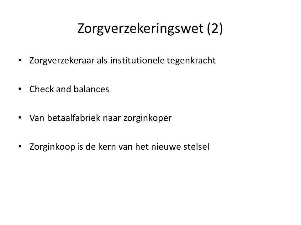 Zorgverzekeringswet (2)