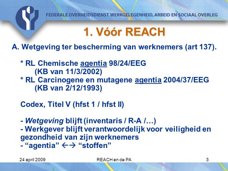 1. Vóór REACH