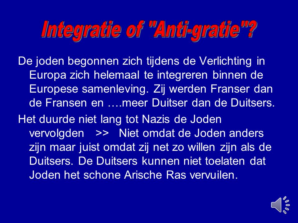 Integratie of Anti-gratie