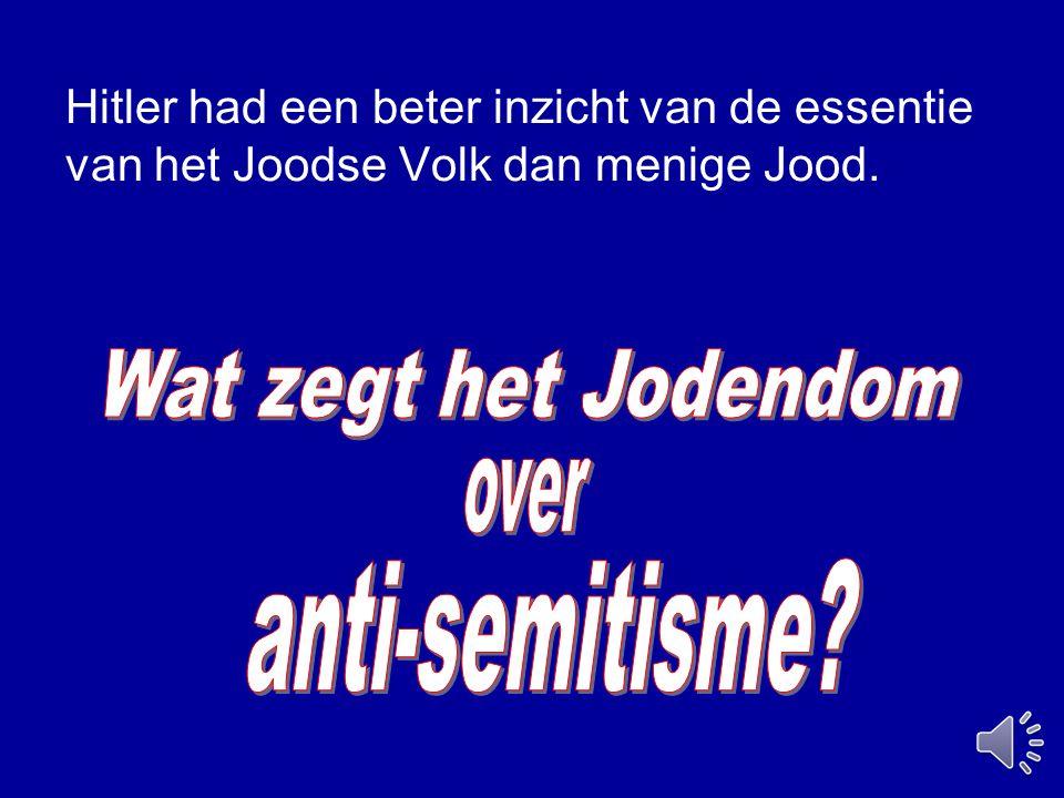 Wat zegt het Jodendom over anti-semitisme
