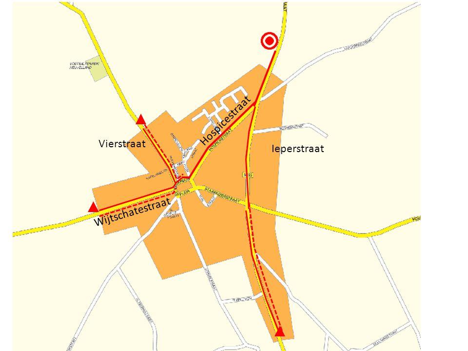 Wat zal er veranderen Hospicestraat Vierstraat Ieperstraat