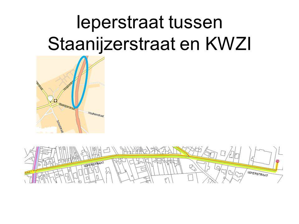 Ieperstraat tussen Staanijzerstraat en KWZI