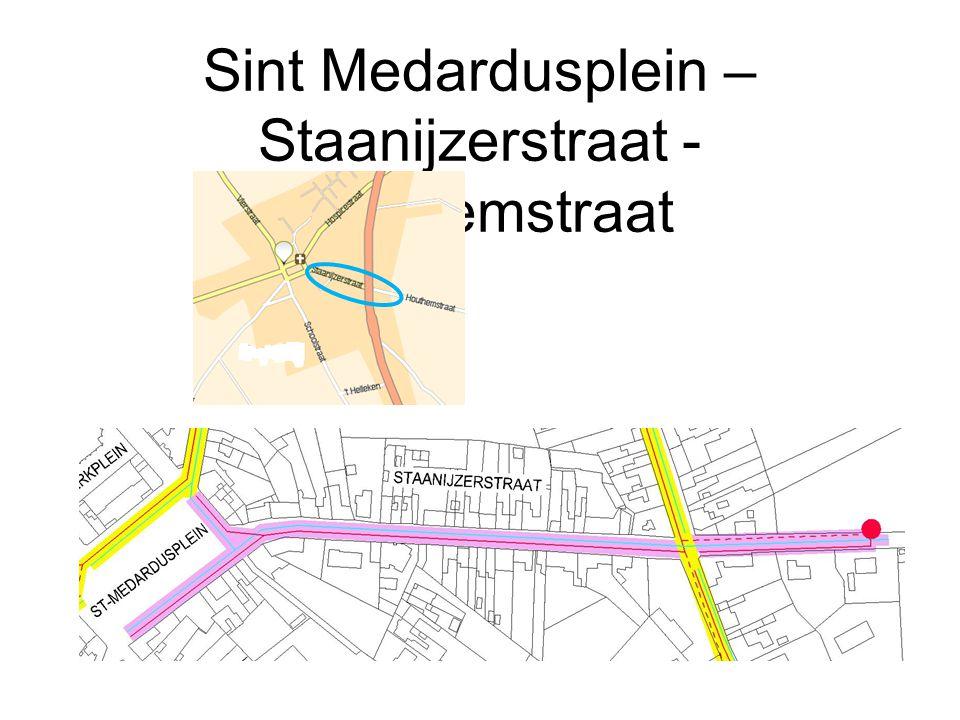 Sint Medardusplein – Staanijzerstraat - Houthemstraat