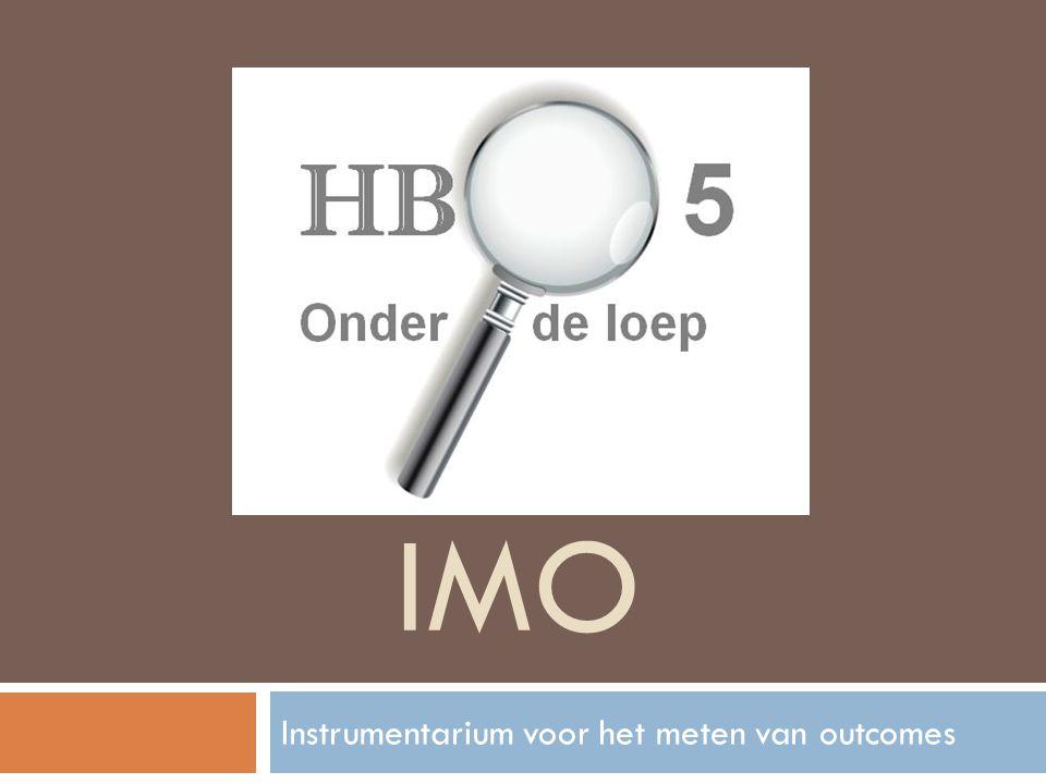 Instrumentarium voor het meten van outcomes