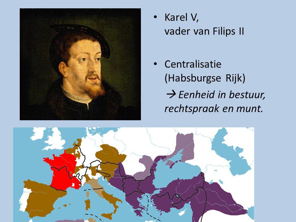 Karel V, vader van Filips II