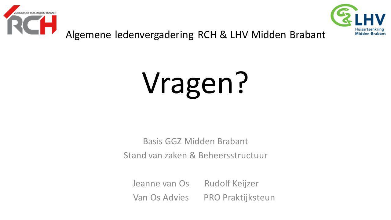 Algemene ledenvergadering RCH & LHV Midden Brabant Vragen