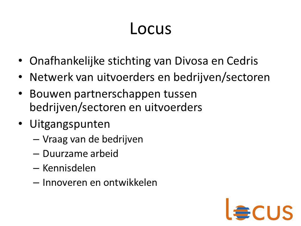 Locus Onafhankelijke stichting van Divosa en Cedris
