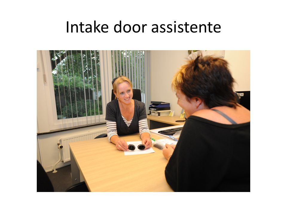 Intake door assistente