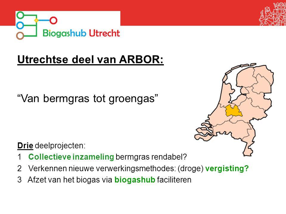 Utrechtse deel van ARBOR: