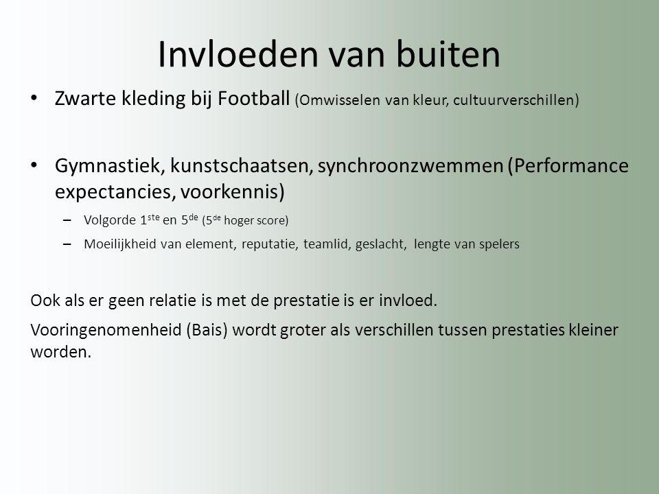 Invloeden van buiten Zwarte kleding bij Football (Omwisselen van kleur, cultuurverschillen)