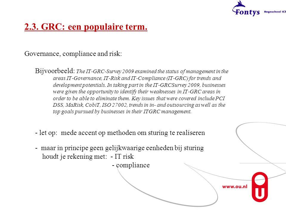 2.3. GRC: een populaire term.