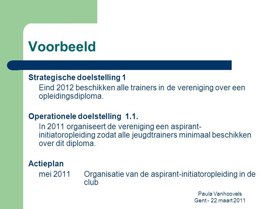 Paula Vanhoovels Gent - 22 maart 2011