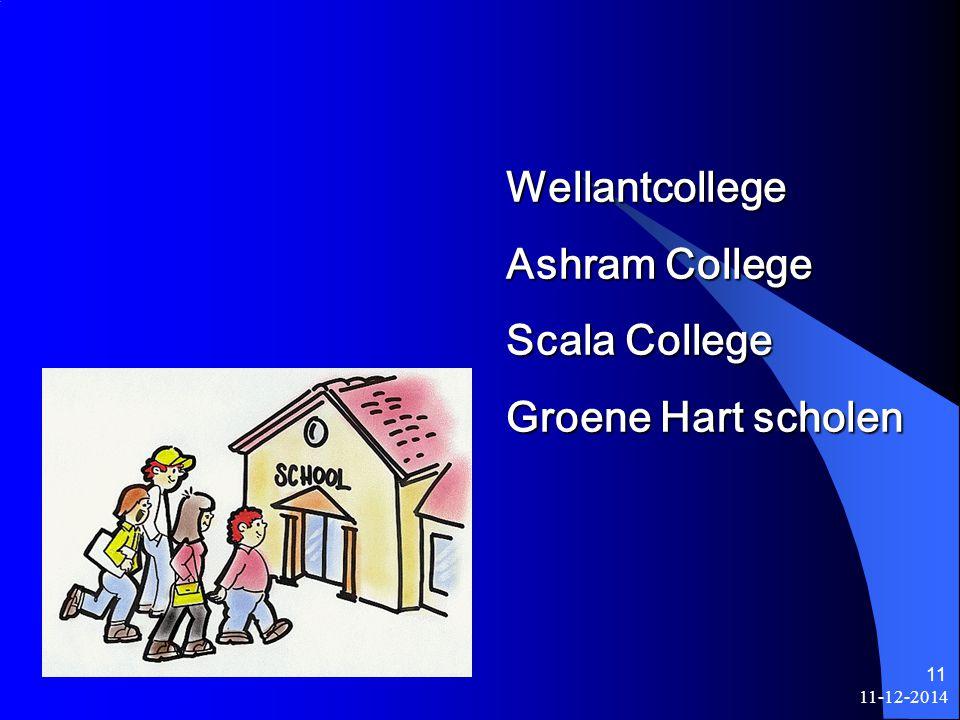 Wellantcollege Ashram College Scala College Groene Hart scholen