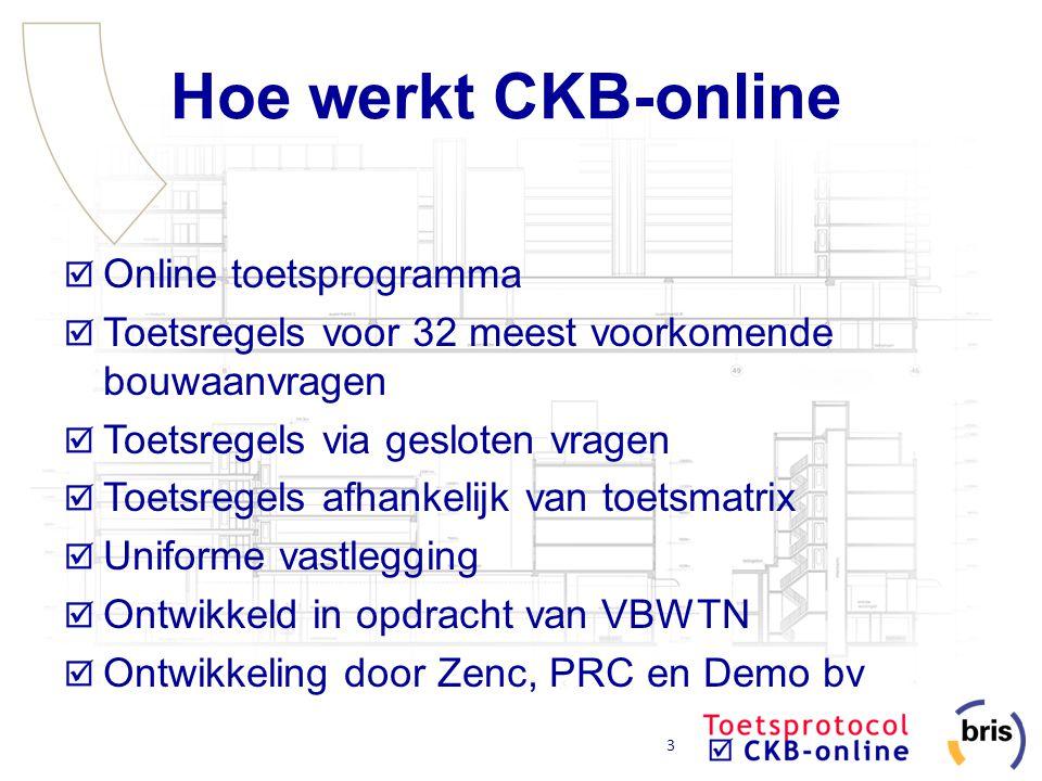 Hoe werkt CKB-online Online toetsprogramma