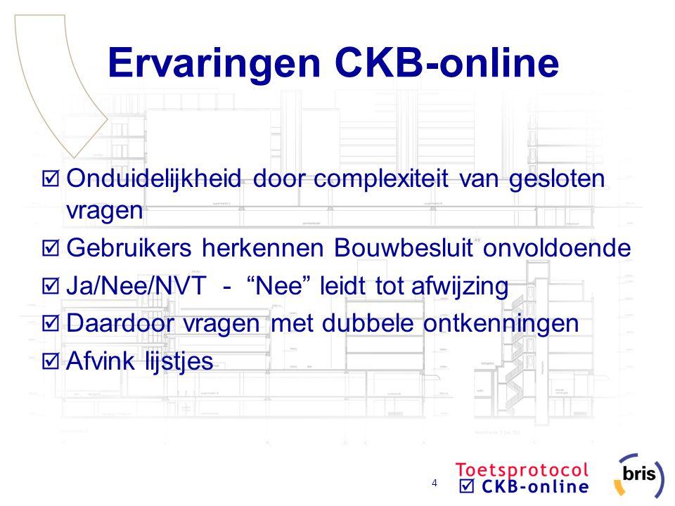Ervaringen CKB-online