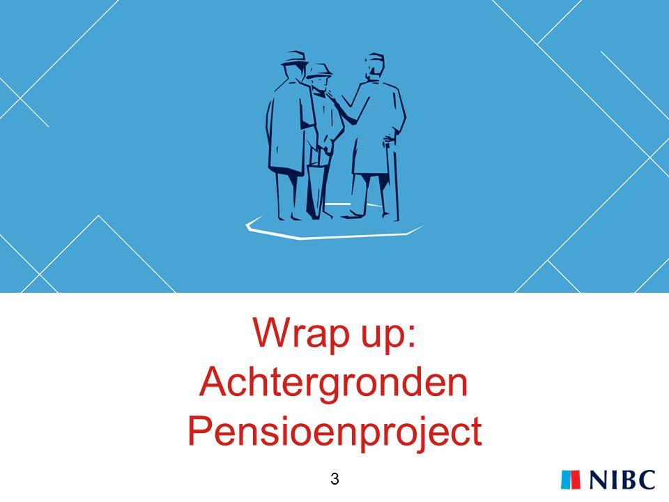 Wrap up: Achtergronden Pensioenproject