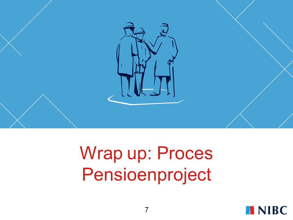 Wrap up: Proces Pensioenproject